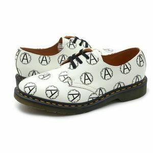 Supreme x anarchy Dr marten 3 eye shoes